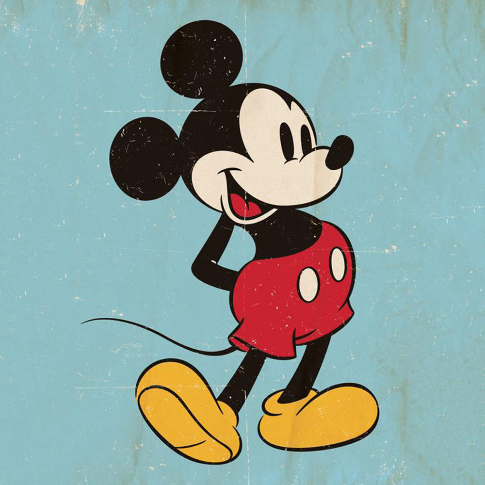 poster-vintage-mickey
