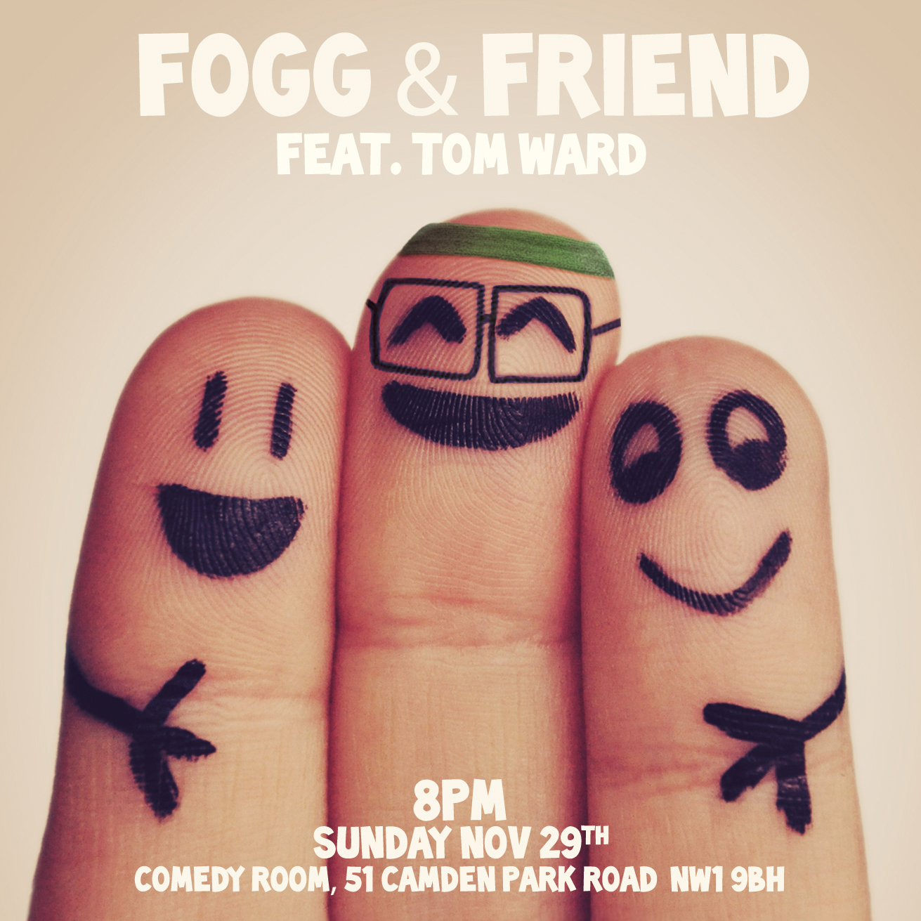 Fogg and Friends 1 square TOM WARD